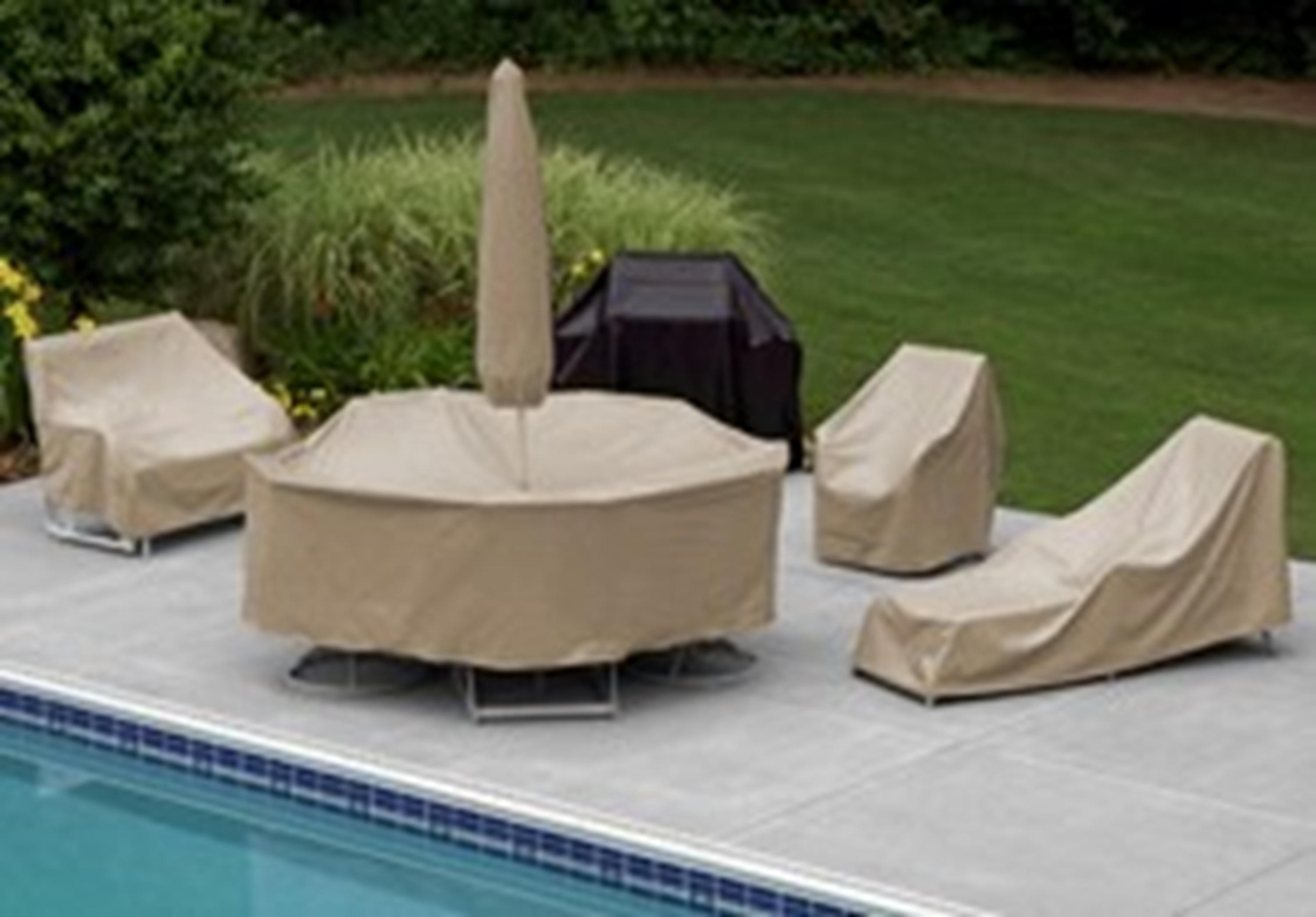 Image of: Treasure Garden Patio Furniture Cover