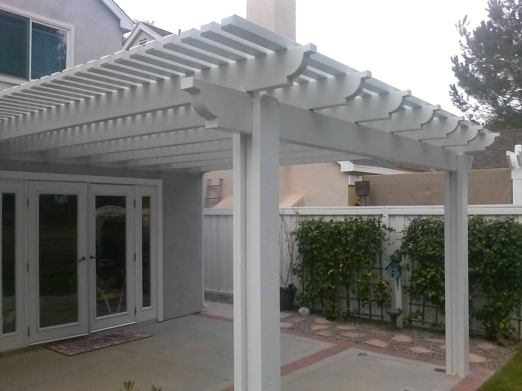 Image of: Vinyl Shade Patio Cover