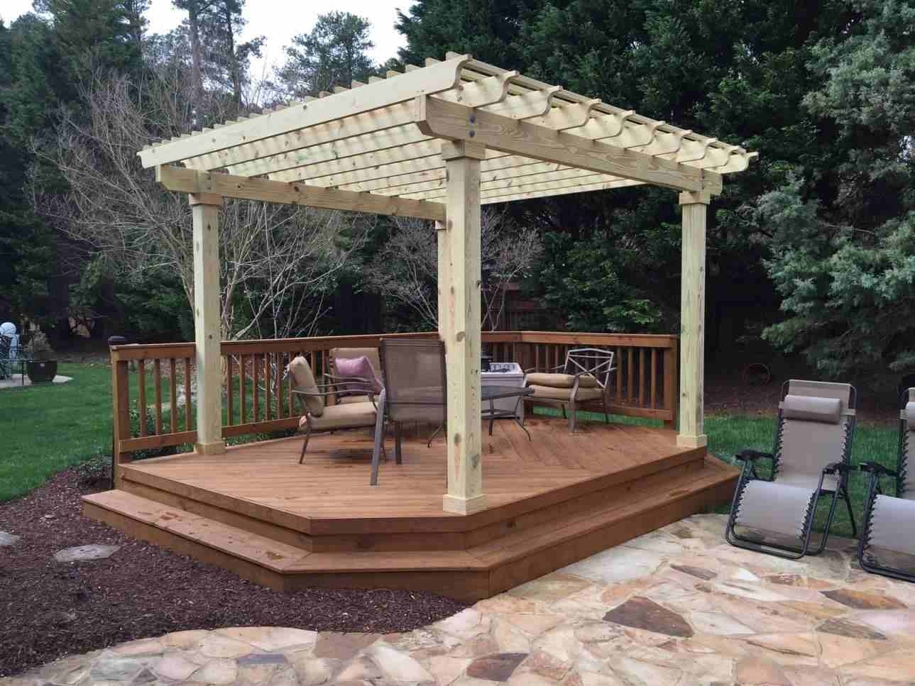 Image of: Great Detached Patio Cover Plans