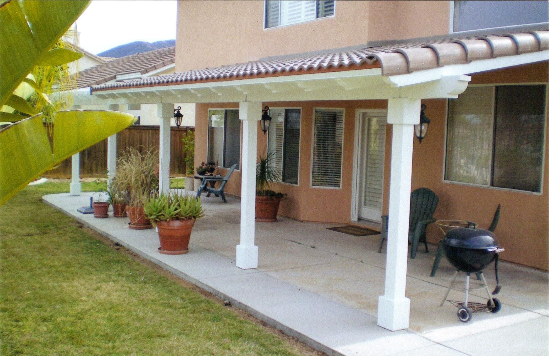 Image of: Top Of Insulated Patio Cover